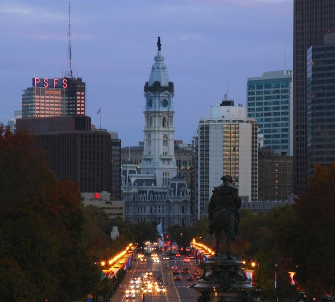 Work Injury Rights - Philadelphia City Hall Image